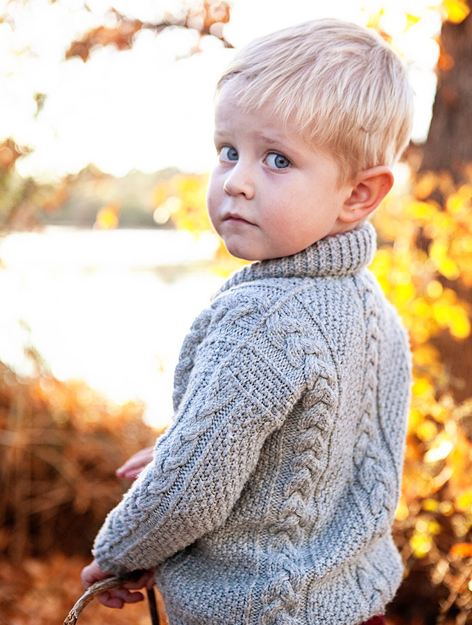 The Jones Cardigan: A Hand Knit Sweater