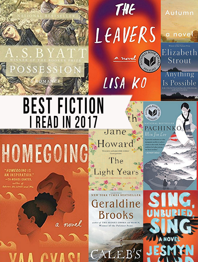 Top 10 Fiction Books I Read in 2017