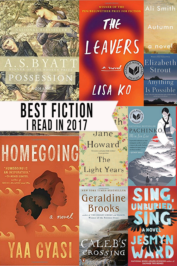 The Best Fiction Books I Read in 2017