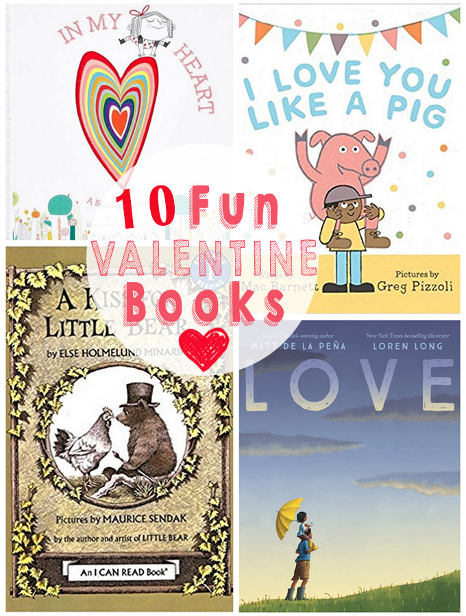 Fun Picture Books for Valentine's Day