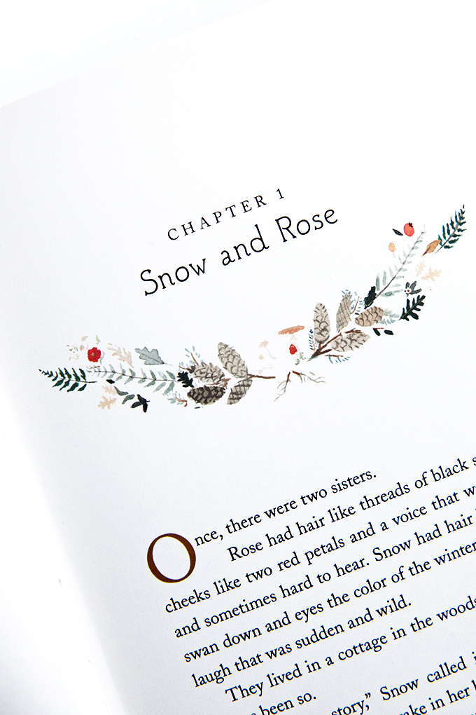 Snow and Rose Chapter Heading Illustrations