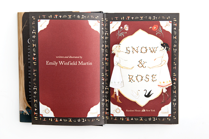 Snow and Rose Emily Winfield Martin Ilustrations 1