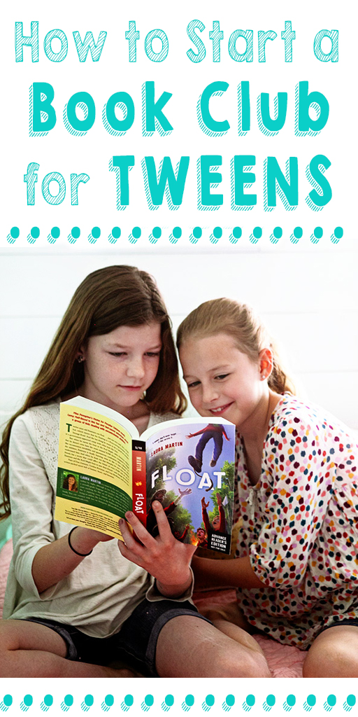 How to Start a Book Club for Tweens