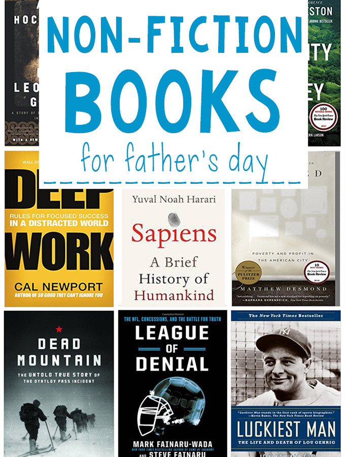 Non-Fiction Books for Father's Day