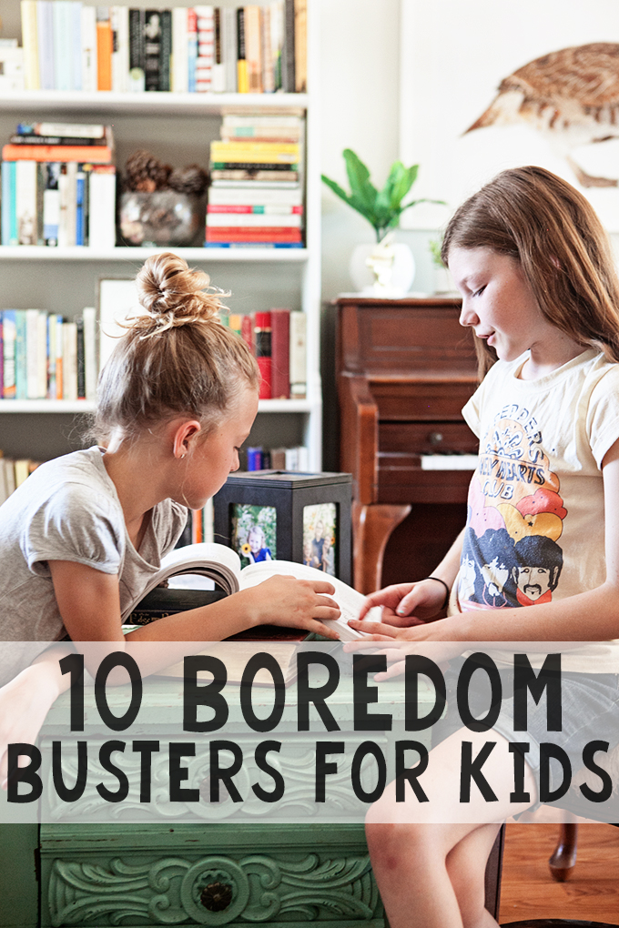 Boredom Busters for Kids : 10 Simple Activities for Kids