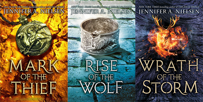 Mark of the Thief Trilogy
