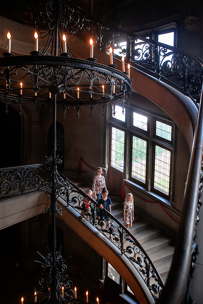 Stairs at the Biltmore House