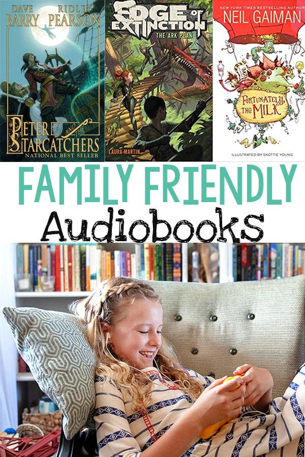 Family Friendly Audiobooks That Even Adults Can Enjoy