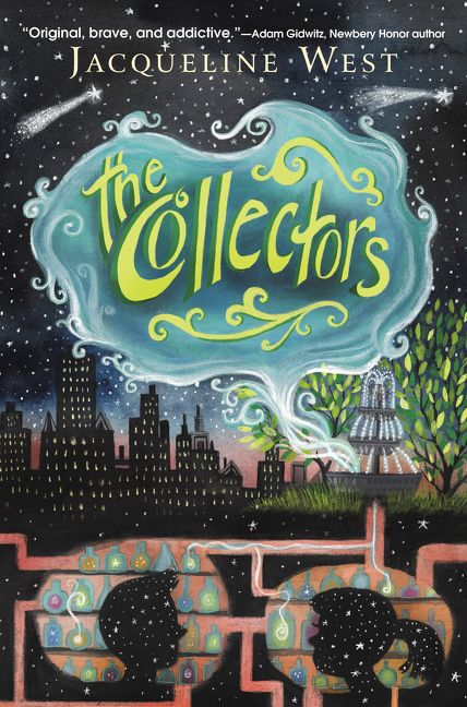 The Collectors by Jacqueline West Book Cover Image