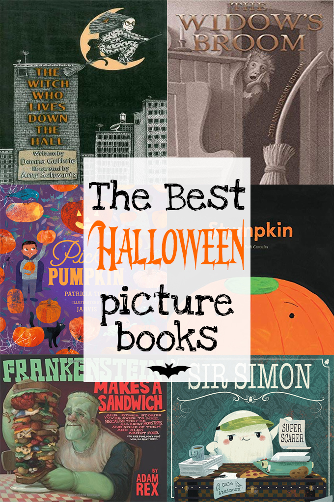 Collage of Halloween Picture Books