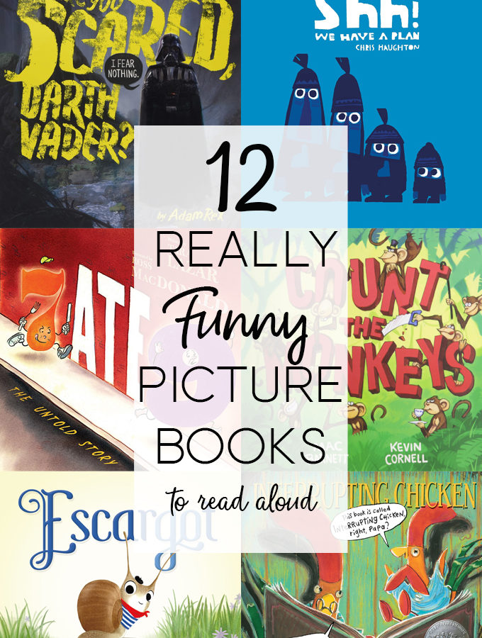 12 Really Funny Picture Books to Read Aloud