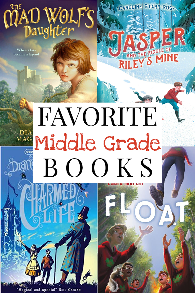 Best Middle Grade Books Cover Collage