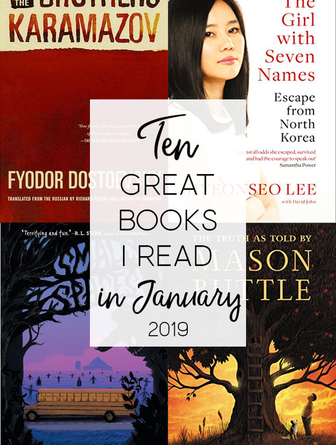 What I Read in January 2019