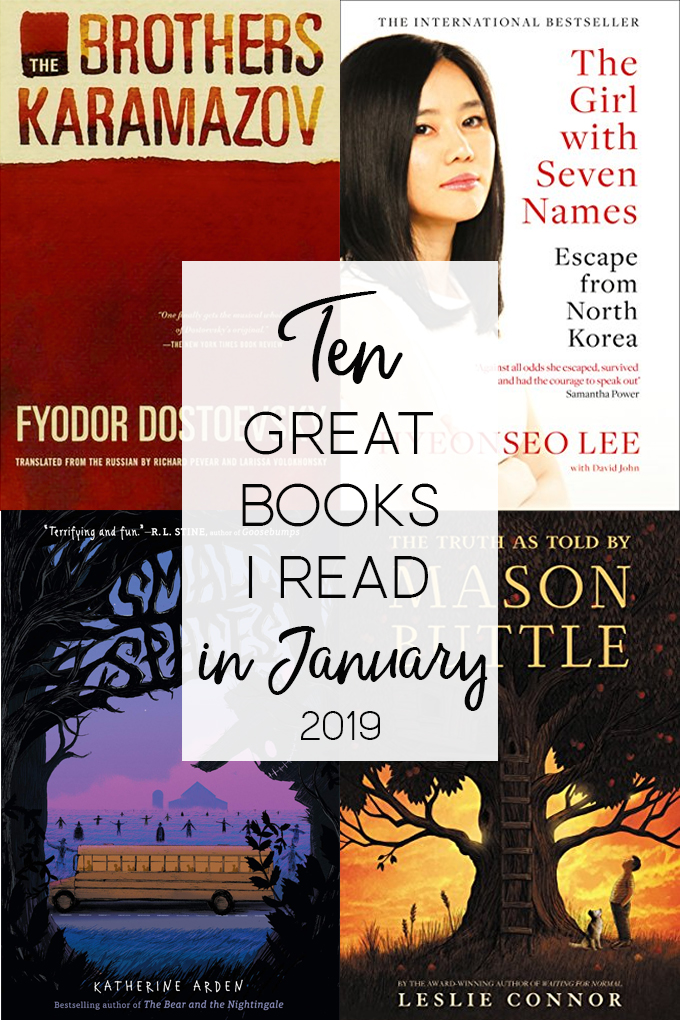 10 great books I read in January
