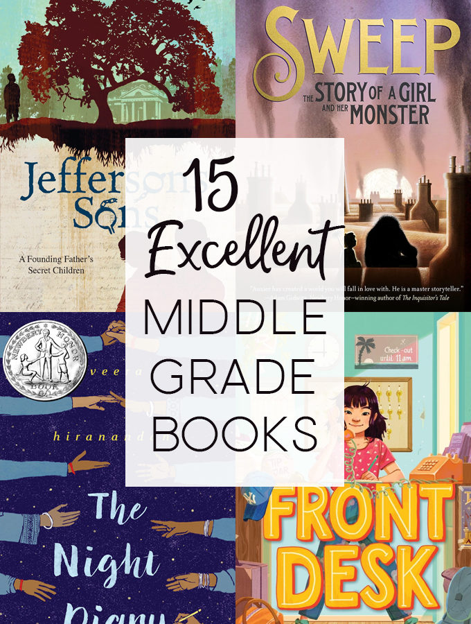 15 Excellent Middle Grade Books for Middle Grade March