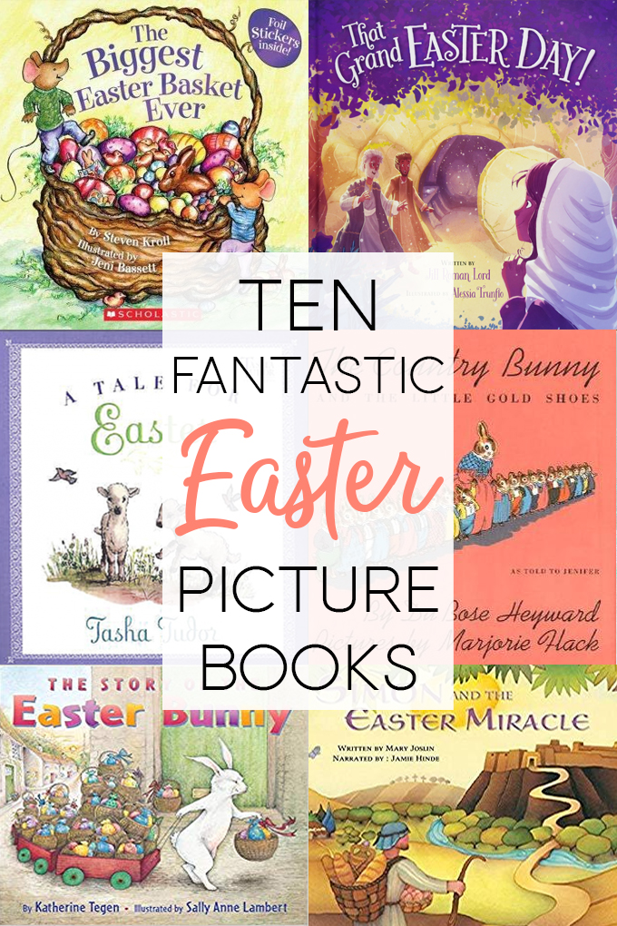 Easter Picture Books Collage