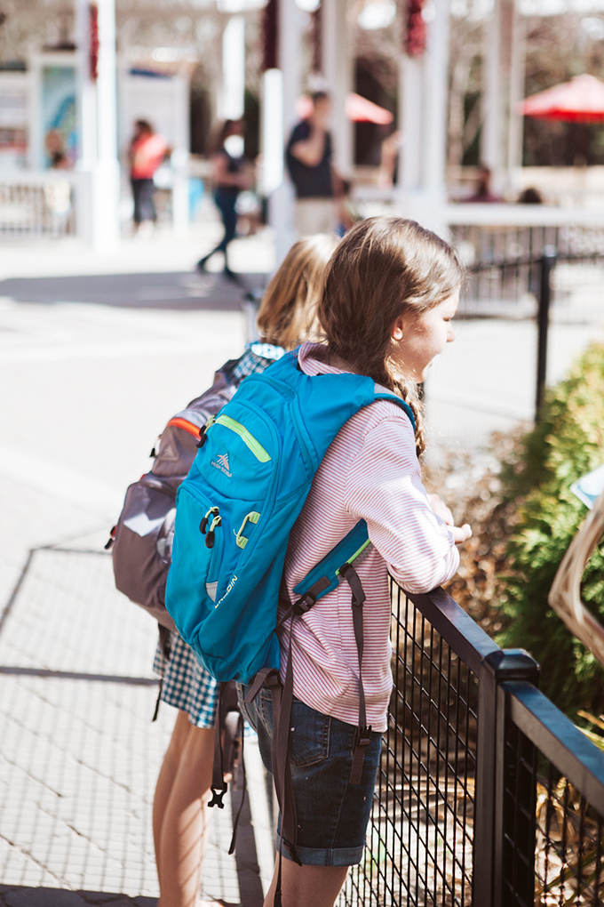 Kids wearing water back packs for a post about great products