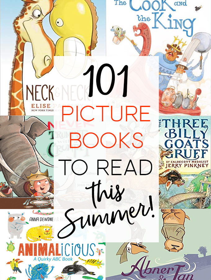 101 Picture Books for Summer Reading 2019