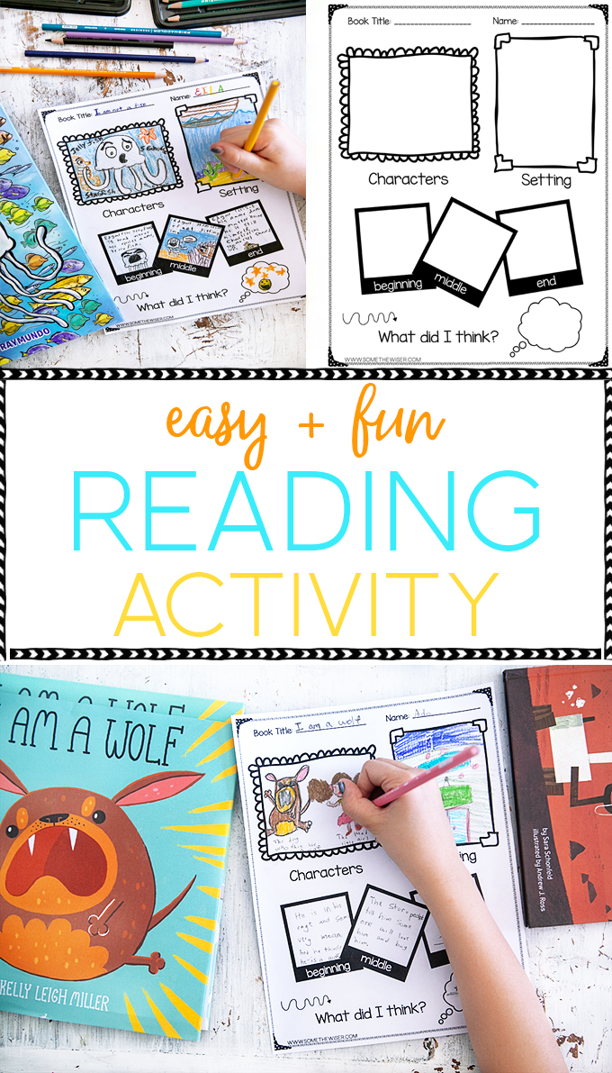 Picture Book Reading Activity collage
