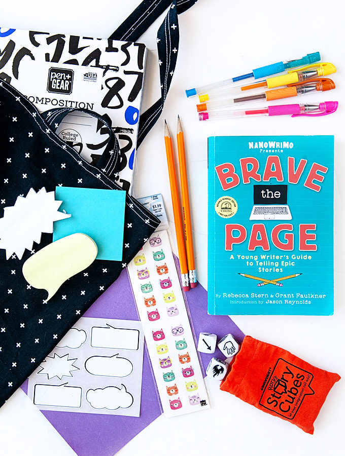 Brave the Page with a Creative Writing Kit for Kids and Teens