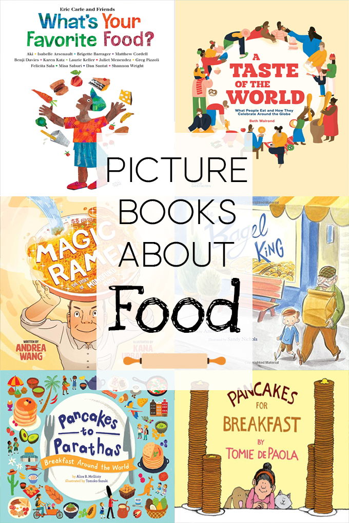 Best Picture Books About Food