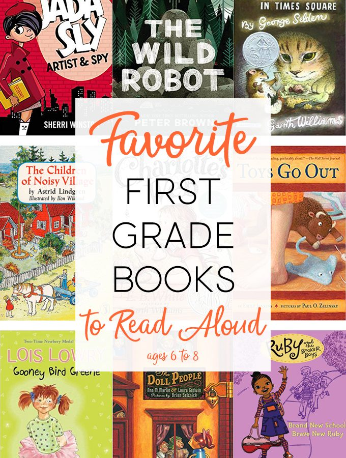 Read Aloud Books for First Grade