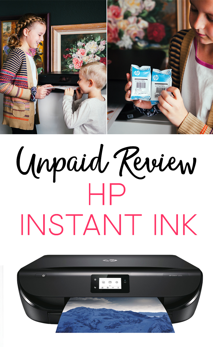 Unpaid Review of HP Instant Ink