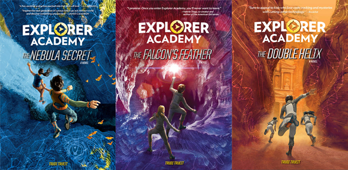 Explorer Academy Middle Grade STEM Book Series