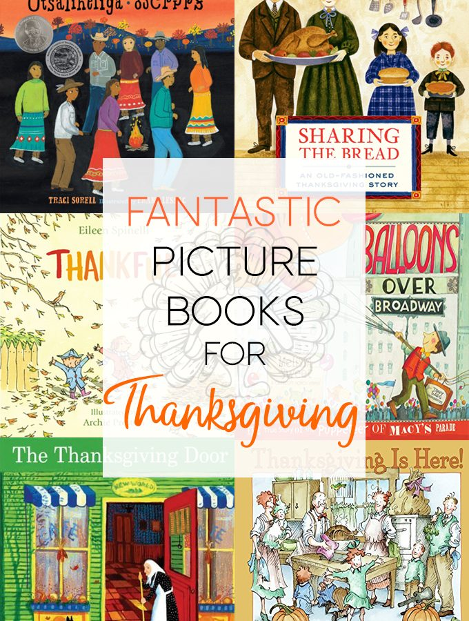 The Best Thanksgiving Picture Books