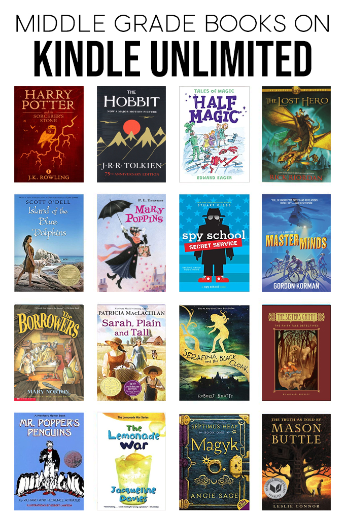 collage of the best books on kindle unlimited