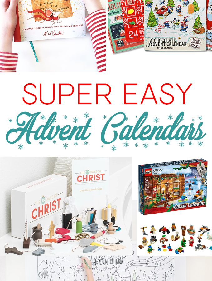 Low-Key Advent Calendars for Families