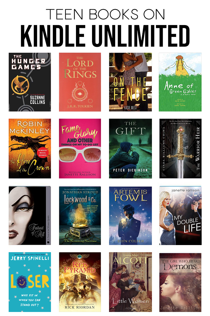 the Best books on Kindle Unlimited for Teens