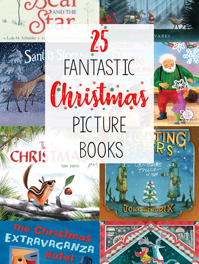 25 Wonderful Children's Christmas Books