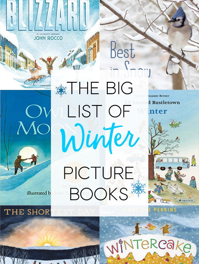 The Big List of Winter Picture Books