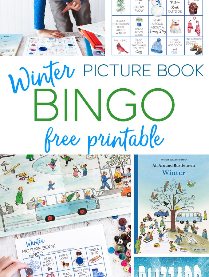 Winter Picture Book Bingo : Free Printable