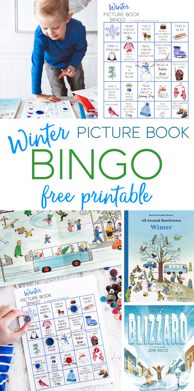 Winter Picture Book Bingo