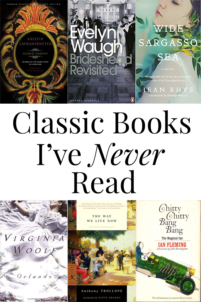 Six Classic Books I've Never Read - Some the Wiser