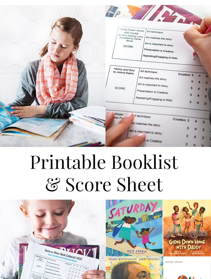 Mock Caldecott 2020 with Printable Score Sheet