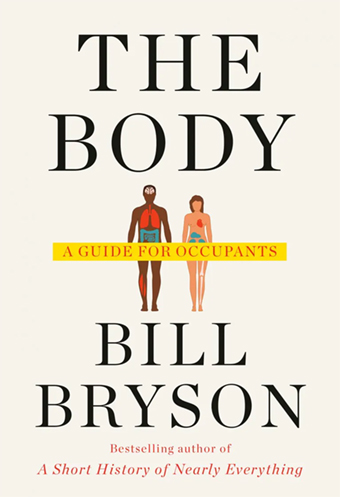The Body by Bill Bryson book cover