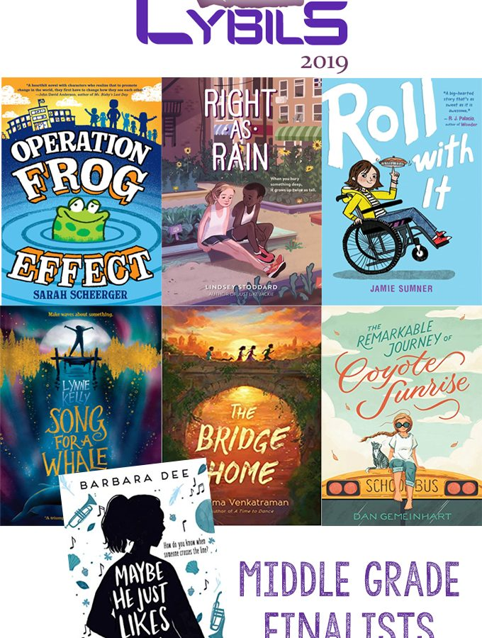 The Cybils Awards: Middle Grade Fiction Finalists (and more)