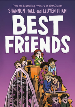 Book Cover Image of Best Friends by Shannon Hale