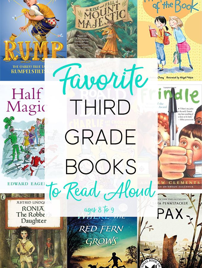 Read Aloud Books for Third Grade