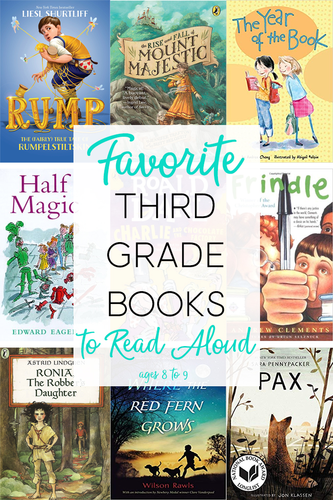 Read Aloud Books For Third Grade Some The Wiser