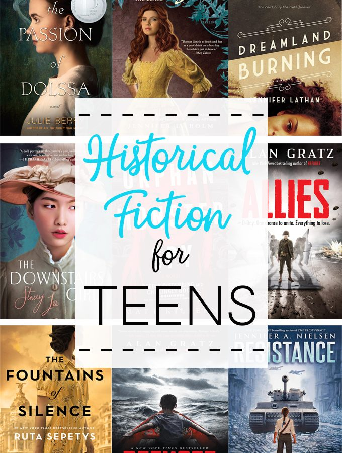 Historical Fiction for Teens : Our Favorites!