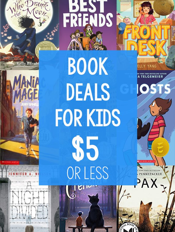 Current Book Deals for Kids
