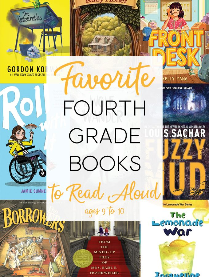 Read Aloud Books for Fourth Grade