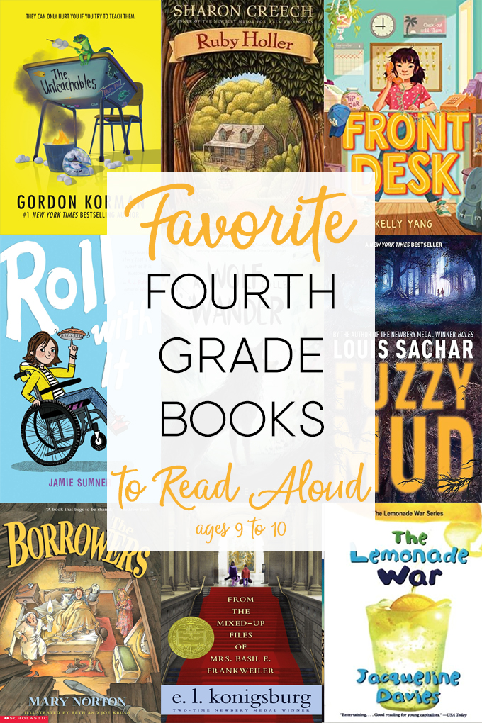 fourth grade books to read aloud