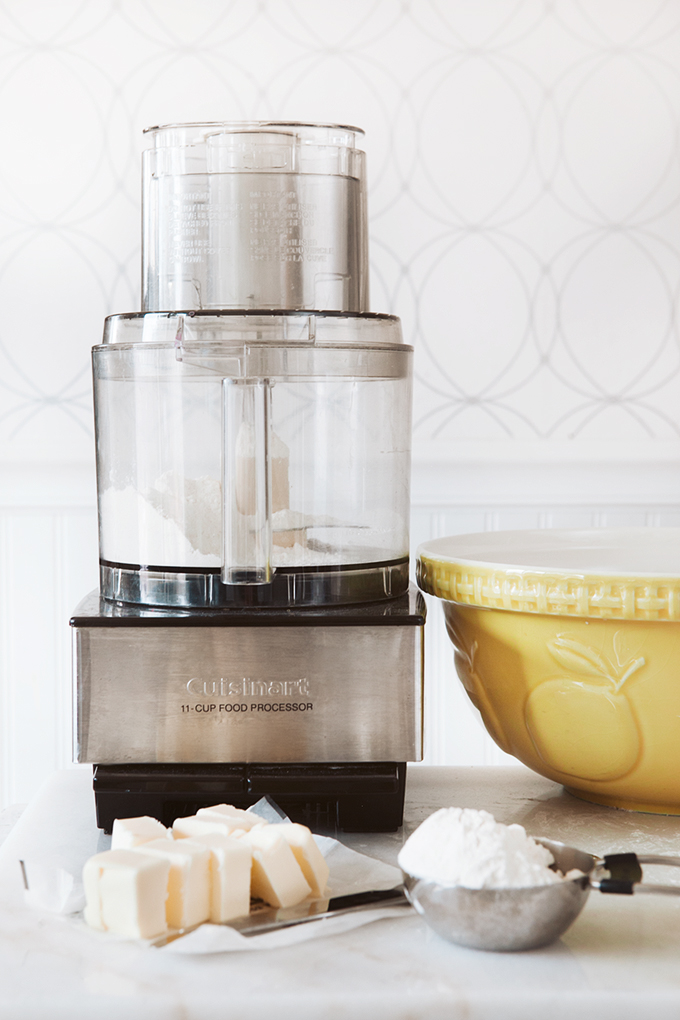 Cutting Butter into Flour with Food Processor