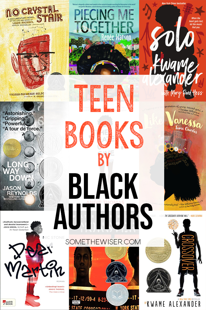 Books for Teens by Black Authors