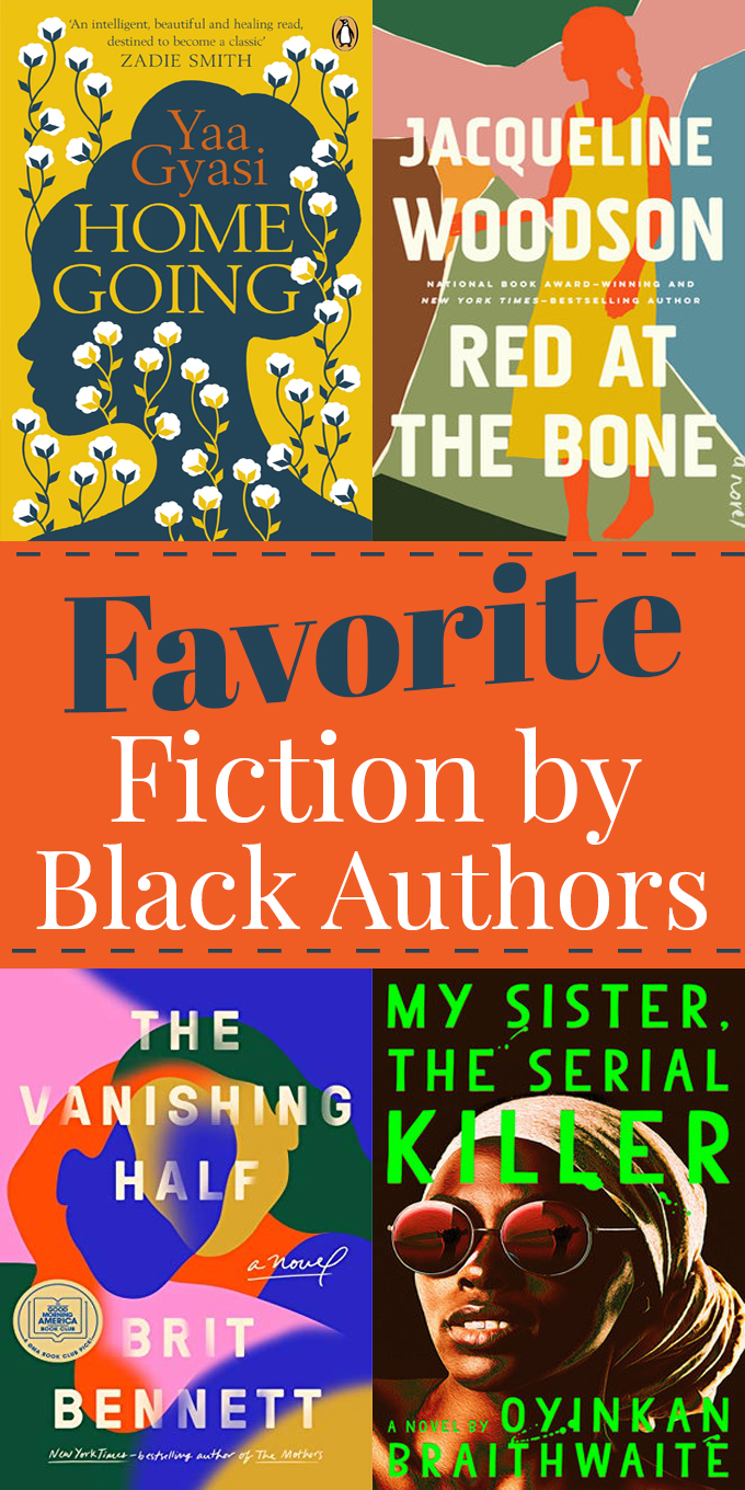 Contemporary Fiction by Black Authors Book Covers